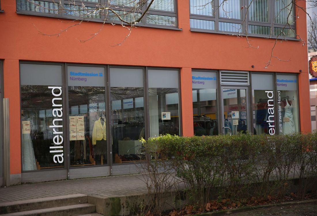 Das allerhand-Geschäft in der Watzmannstraße