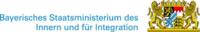 Logo Bayerisches Staatsministeriums des Innern und für Integration