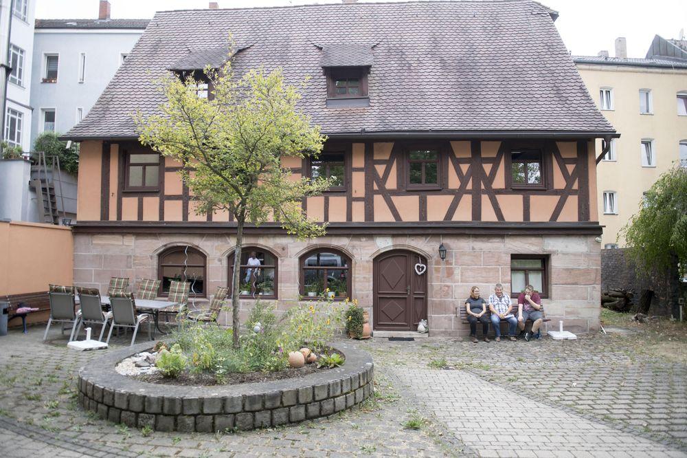 Das Marianne-Leipziger-Haus (altes Fachwerkhaus)