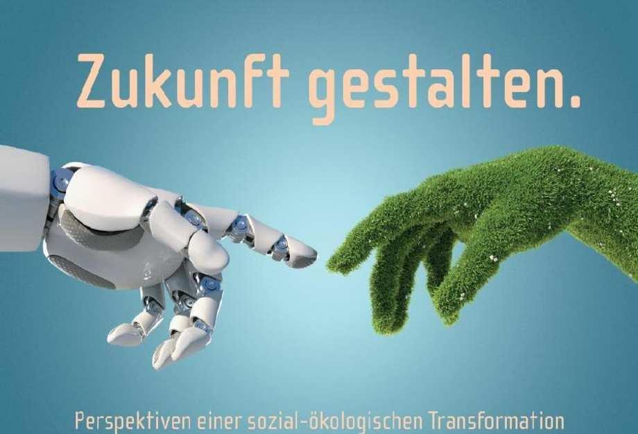 """Plakat der Veranstaltung """"Zukunft gestalten""""."""