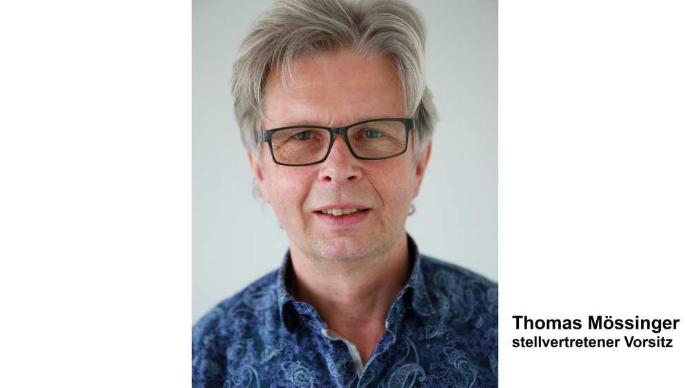 Thomas Mössinger, stellvertretender Vorsitz