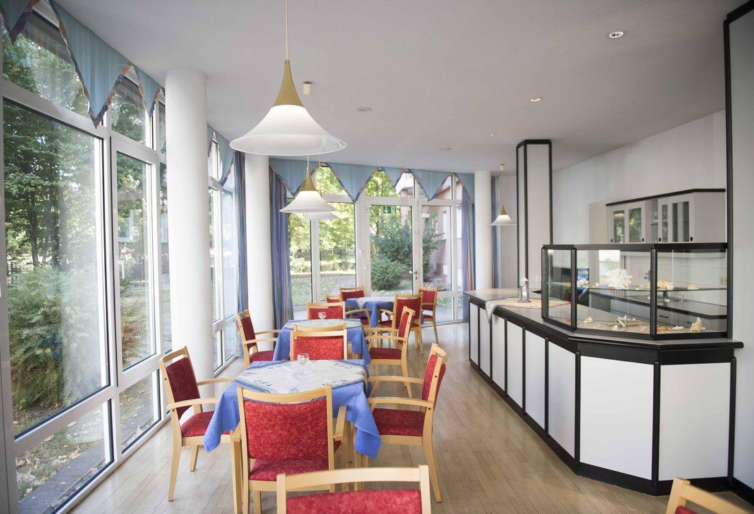 Die Cafeteria des Christian-Geyer-Heims
