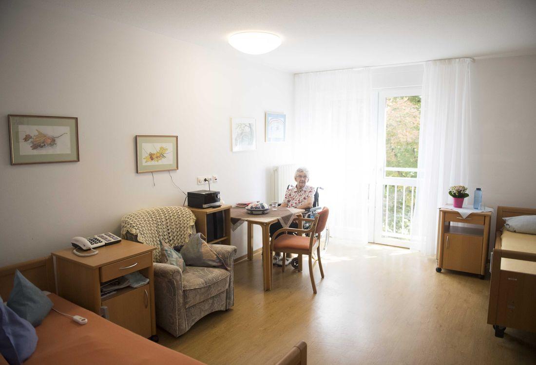 Ansicht eines Doppelzimmers im Christian-Geyer-Heim
