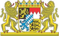 Logo des bayrischen Staatswappen